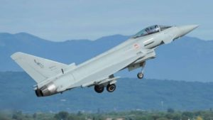 1st Eurofighter with PIRATE IRST Radar Delivered to Italian Air Force